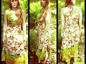 скидки на летние хлопковые платья | Ярмарка Мастеров - ручная работа, handmade