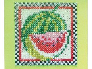 Украшаем кухонный интерьер милыми панно с фруктами из бусинок. Ярмарка Мастеров - ручная работа, handmade.