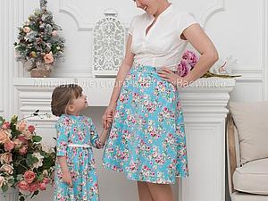 Полюбившаяся всем ткань для платья | Ярмарка Мастеров - ручная работа, handmade
