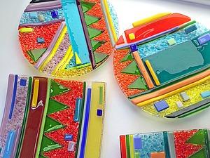 Набор декоративных тарелок для дома БРАЗИЛИЯ | Ярмарка Мастеров - ручная работа, handmade