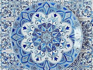 Мастер-класс. Точечная роспись. Восточный орнамент | Ярмарка Мастеров - ручная работа, handmade