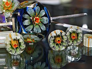 Видео мастер-класс по лэмпворку: как распускаются цветы в бусинах. Ярмарка Мастеров - ручная работа, handmade.