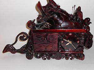 Мастерим каминные часы-шкатулку в славянском стиле. Ярмарка Мастеров - ручная работа, handmade.