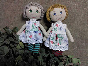 Шьём игровую текстильную куклу для детей от 1,5 лет. Часть 3. Ярмарка Мастеров - ручная работа, handmade.