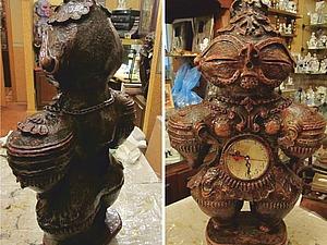 Скульптура Догу из папье-маше. | Ярмарка Мастеров - ручная работа, handmade