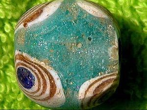 Бусины лэмпворк, которым 2,5 тысячи лет. Ярмарка Мастеров - ручная работа, handmade.