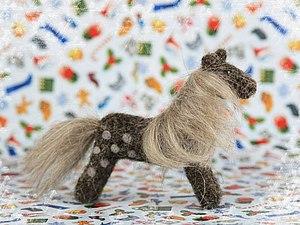 Сухое валяние игрушки из шерсти   Ярмарка Мастеров - ручная работа, handmade