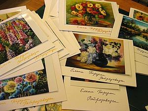 Как быстро сделать открытку-визитку с благодарностью покупателю. Ярмарка Мастеров - ручная работа, handmade.
