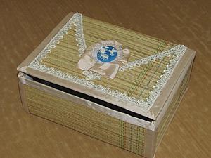Мастерим шкатулку в стиле бохо из подручных материалов. Ярмарка Мастеров - ручная работа, handmade.
