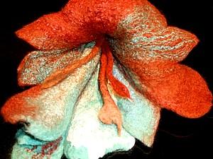 Войлочные цветы | Ярмарка Мастеров - ручная работа, handmade