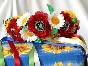 Свадебный венок   Ярмарка Мастеров - ручная работа, handmade