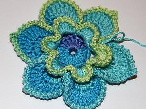 Вяжем крючком цветы | Ярмарка Мастеров - ручная работа, handmade