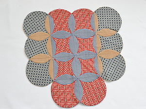 Cathedral Window. Мастер-класс как сшить коврик | Ярмарка Мастеров - ручная работа, handmade