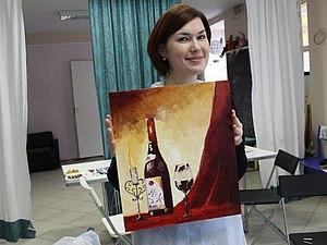 Масляная живопись.Картина за 3 часа. | Ярмарка Мастеров - ручная работа, handmade