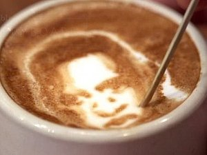 Удивительные портреты на кофе | Ярмарка Мастеров - ручная работа, handmade