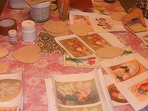 2 способа истончить распечатку для декупажа | Ярмарка Мастеров - ручная работа, handmade