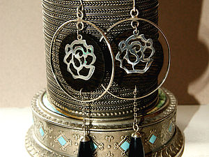 Создание вечерних серег с медальонами из дерева 2часть. Ярмарка Мастеров - ручная работа, handmade.