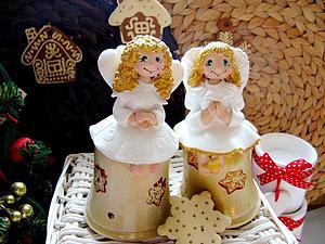 Ангельские девочки участвуют в новогоднем конкурсе!) | Ярмарка Мастеров - ручная работа, handmade
