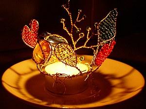 Создаем подсвечник-валентинку. Ярмарка Мастеров - ручная работа, handmade.
