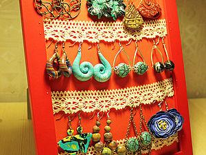 Подставка для украшений за 10 минту | Ярмарка Мастеров - ручная работа, handmade