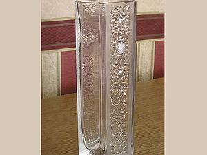 МК по декорирования вазы