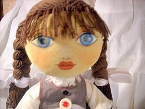 Кукла ручной работы бохо | Ярмарка Мастеров - ручная работа, handmade