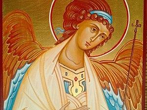 Икона Ангела-Хранителя | Ярмарка Мастеров - ручная работа, handmade