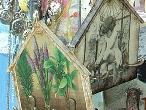 Ключницы-домики по 500 руб.!!!. Ярмарка Мастеров - ручная работа, handmade.