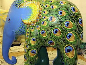 Роспись по слонам!))   Ярмарка Мастеров - ручная работа, handmade