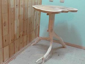 Делаем эксклюзивный столик для кофе. Часть вторая, заключительная. Ярмарка Мастеров - ручная работа, handmade.
