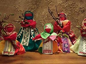 Делаем традиционных кукол: Вербница | Ярмарка Мастеров - ручная работа, handmade