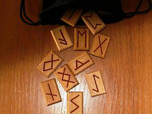 Мастер-класс по изготовлению Рун из дерева | Ярмарка Мастеров - ручная работа, handmade