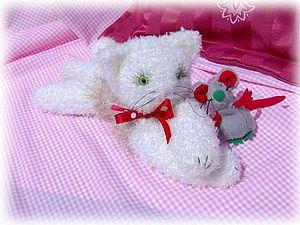МК. Ленивый кот. | Ярмарка Мастеров - ручная работа, handmade