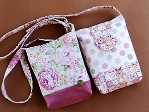 Мастер-класс по пошиву сумочки , handmade