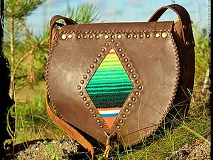 Аукцион  на кожаную сумочку в бохо-стиле ;) | Ярмарка Мастеров - ручная работа, handmade