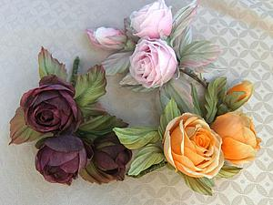 Цветы из шелка. Как выбрать свой цветок?   Ярмарка Мастеров - ручная работа, handmade
