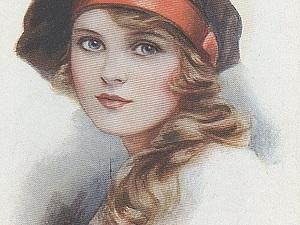 Лики ушедшего века Ethel Brisley   Ярмарка Мастеров - ручная работа, handmade