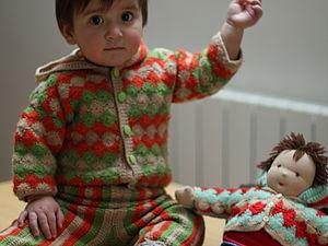 Малыш Петя и его куколка   Ярмарка Мастеров - ручная работа, handmade