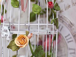 """Мастер Класс """"Цветы из глины Deco."""" - Ярмарка Мастеров - ручная работа, handmade"""