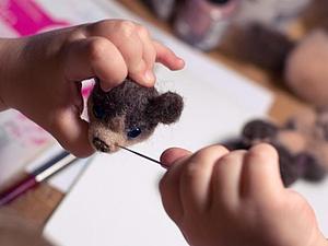 Мишко-процесс - отделка :)   Ярмарка Мастеров - ручная работа, handmade