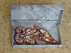 Как сделать прямоугольную коробочку для украшения. Ярмарка Мастеров - ручная работа, handmade.