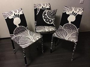 Плохой хозяин — хороший хозяин. Преобразуем стулья. Ярмарка Мастеров - ручная работа, handmade.