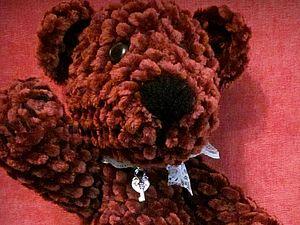 Мишка Плюшевый,шоколадный......аукцион | Ярмарка Мастеров - ручная работа, handmade