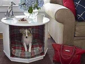 Интересные решения спальное  место для собаки   Ярмарка Мастеров - ручная работа, handmade