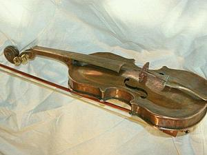 """""""Не волнуй мне душу скрипка..."""". Ярмарка Мастеров - ручная работа, handmade."""
