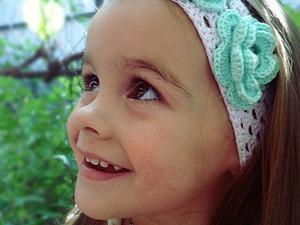 Новинка:Повязка для девочки