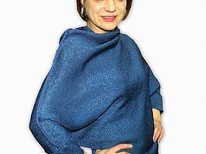 вязаный свитер из шелка IL SOLE | Ярмарка Мастеров - ручная работа, handmade