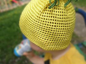 Вяжем шапочку «Чиполлино». Ярмарка Мастеров - ручная работа, handmade.
