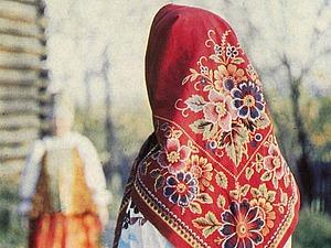 «В платочке ситцевом своем...». Ярмарка Мастеров - ручная работа, handmade.