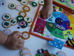 Обучаемся играя или Шпаргалка для родителей. Математика 4+ | Ярмарка Мастеров - ручная работа, handmade